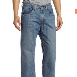 Levi's 569 Relaxed Fit Jeans 34 x 34 Medium Wash
